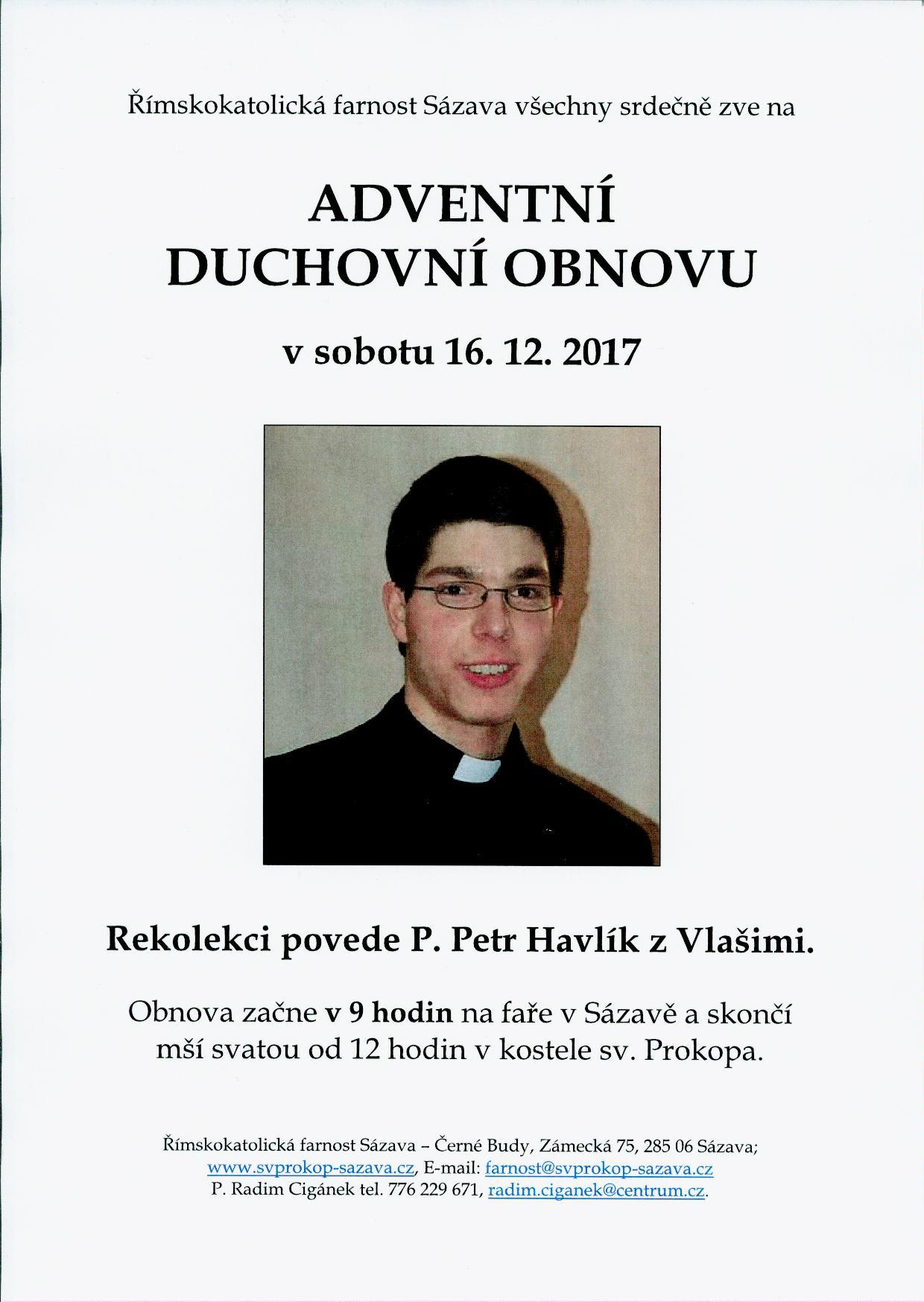 Adventni obnova Havlik 16_12_2017
